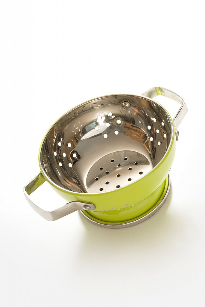 Lime Greeen Colander
