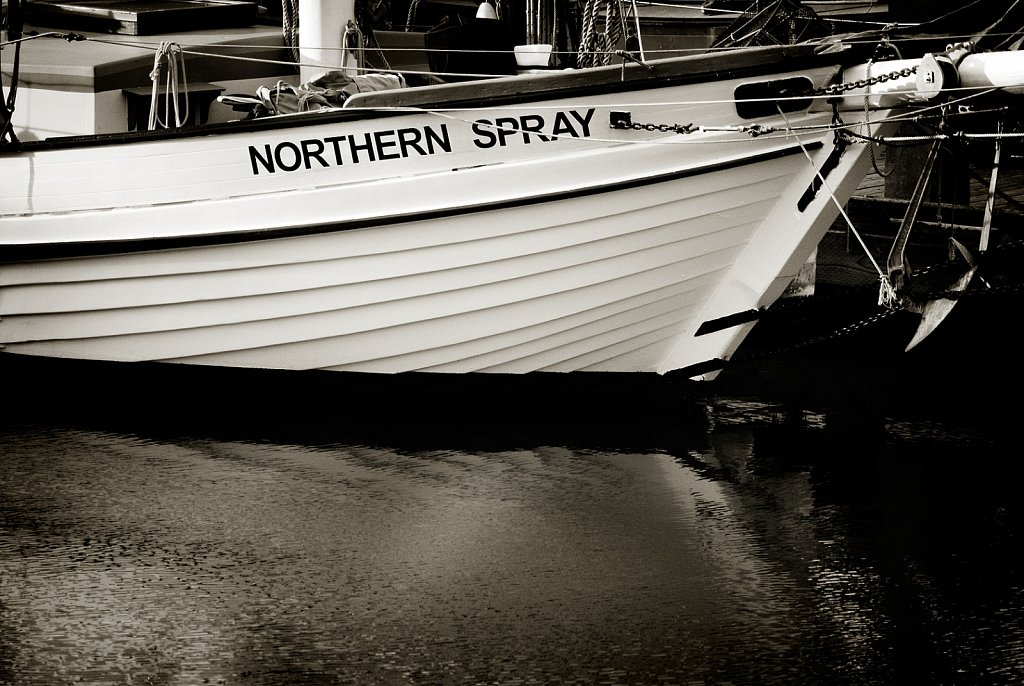 Boat at harbour